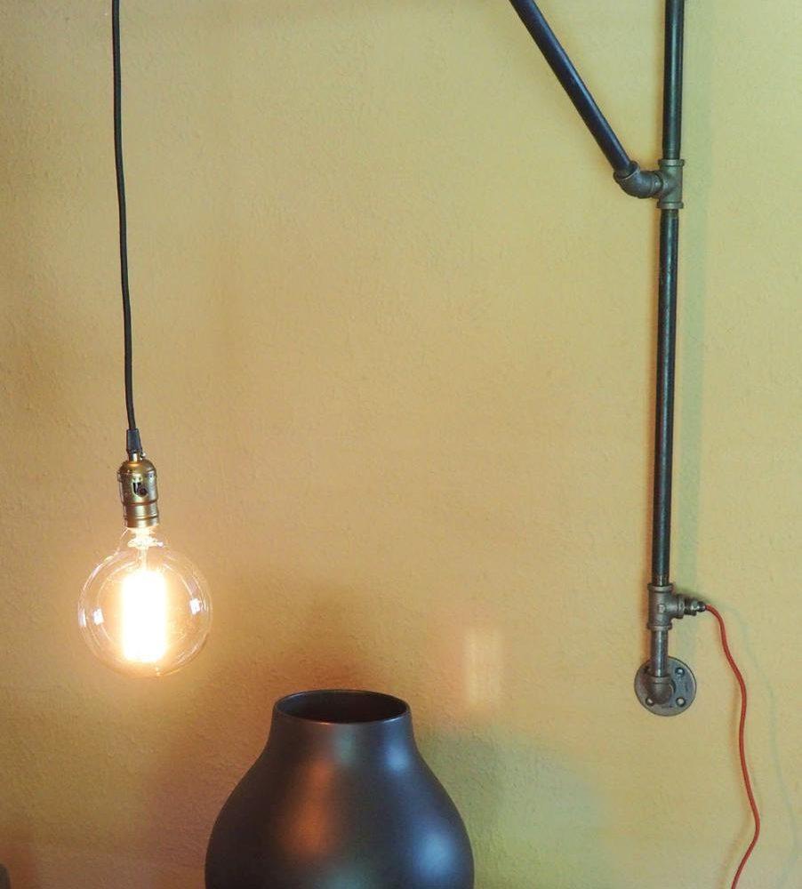 DIY lampu dinding tergantung