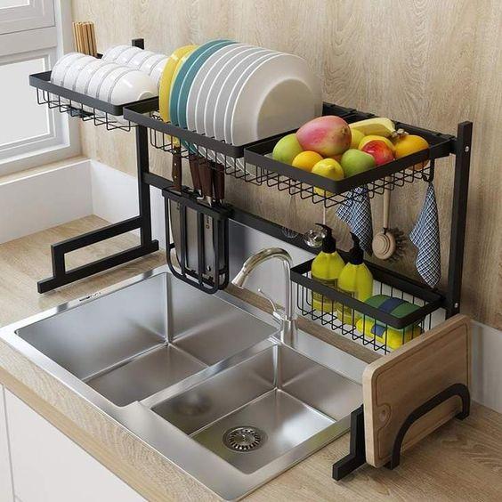 Susun Atur Barang Di Dapur Yang Kemas