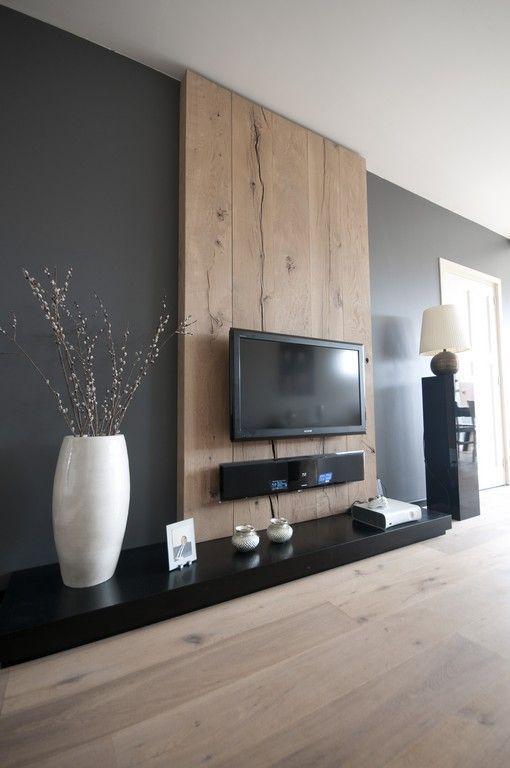 Hartatanah - dekorasi dinding tv