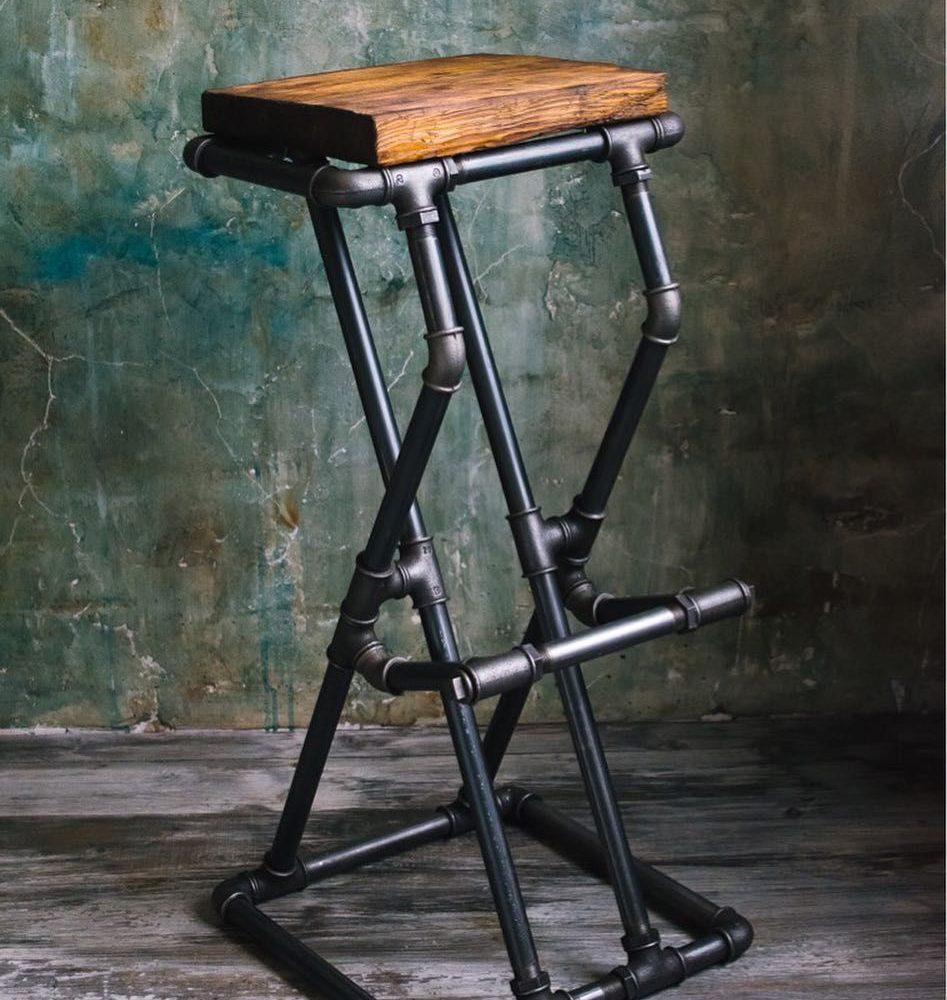 hartatanah - kerusi dari paip besi